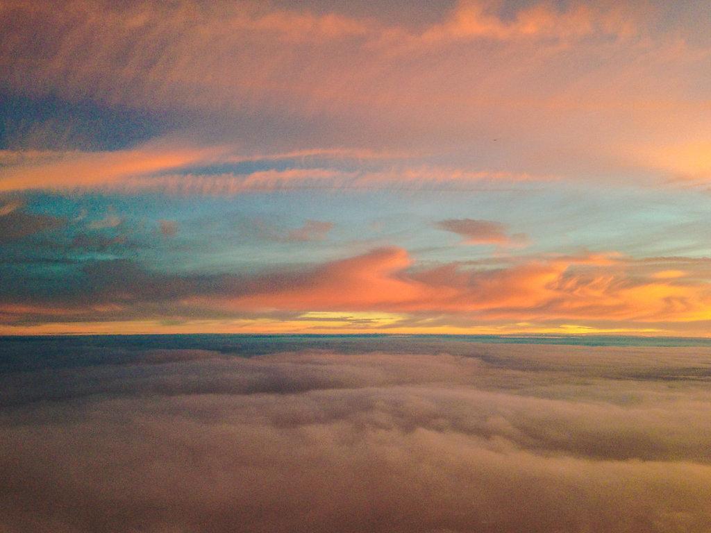 Aeriel Sunset