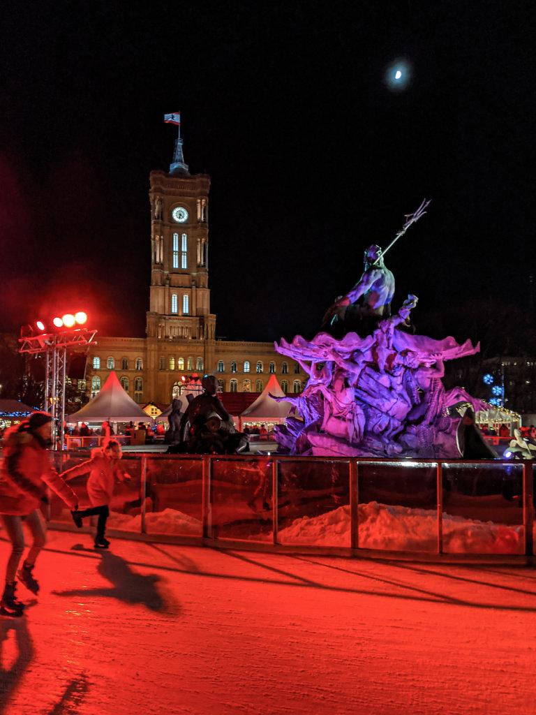 Berliner Weihnachtszeit at Roten Rathaus